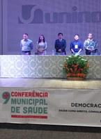 Elzinha Mendonça, presidente em exercício da câmara de Rio Branco participa de Conferência Municipal de Saúde