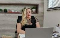 """""""Não estou enquanto vereadora para brincar, mas para trabalhar!"""" diz Michelle Melo"""