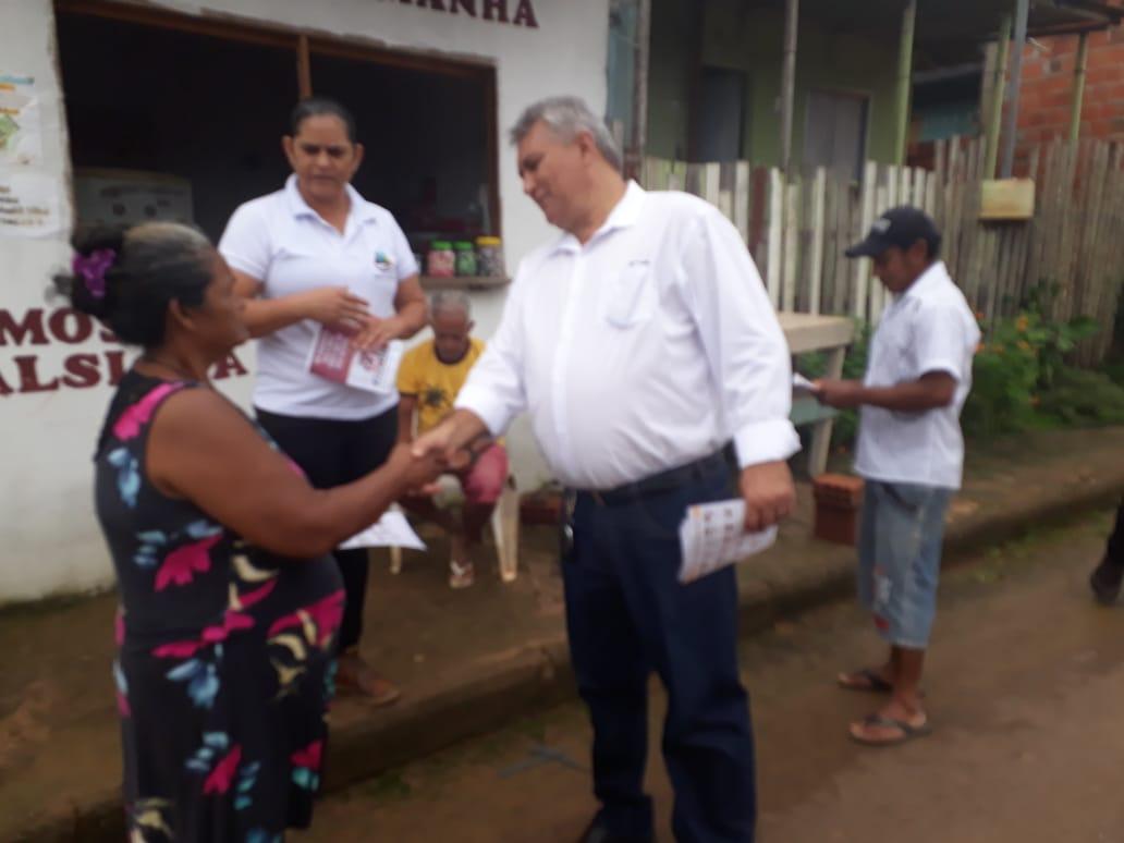 Antônio Morais participa de conscientização no combate à dengue