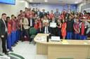 Artêmio Costa entrega Moção de Louvor para Escola Glória Perez