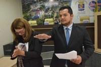 Câmara empossa Anderson Sandro como vereador