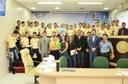 Câmara Municipal recebe alunos do Colégio Militar Tiradentes