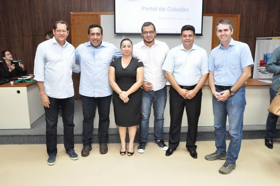 Câmara participa de lançamento do Portal do Cidadão