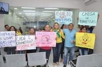 Com a solicitação da vereadora Lene Petecão, Câmara recebe moradores do Loteamento Farhat