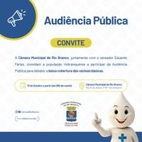Eduardo Farias quer apoio da população para vacinação