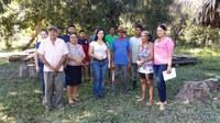 Elzinha Mendonça visita comunidade Barro Alto na Transacreana