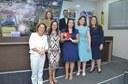 Em ato solene, Elzinha Mendonça homenageia mulheres administradoras