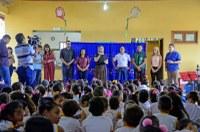 Estudantes da Rede Municipal de Ensino retornam às salas de aula em Rio Branco