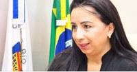 """""""irei trabalhar em defesa da inserção da mulher nos espaços de poder, seu empoderamento e o combate a descriminalização"""". Elzinha Mendonça."""