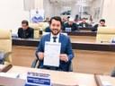Jarude apresenta Projeto para tornar obrigatória a divulgação de gastos, projetos e assiduidade de cada vereador