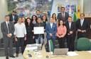 Juruna homenageia Sebrae/Acre pela execução do Programa Nacional de Educação Empreendedora