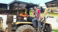 Juruna (PSL) visita bairros da capital
