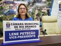 Lene Petecão comemora Semana Municipal do Meio Ambiente