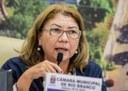 Lene Petecão debate segurança pública e melhorias estruturais na Capital