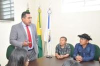 Lideranças indígenas visitam Câmara Municipal de Rio Branco
