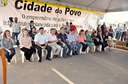 Manuel Marcos, participa da entrega de casas no Cidade do Povo