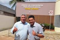 Presidente da Câmara Manuel Marcos e vereador Antônio Moraes destinam 65 mil de emenda para o Centro de Convivência para Pessoa Idosa