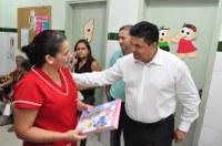 Presidente da Câmara Manuel Marcos visita Centro de Saúde Mário Maia