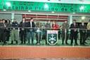 Presidente da Câmara Municipal de Rio Branco, participa de solenidade no 4° Batalhão de Infantaria de Selva