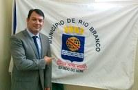 Projeto do vereador Roberto Duarte que obriga o uso do Brasão de Armas em Rio Branco é aprovado por unanimidade