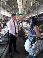 Raimundo Neném realiza vistoria em mercados
