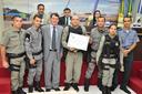 Roberto Duarte entrega Moção de Louvor à guarnições do 2° Batalhão da Polícia Militar de Rio Branco