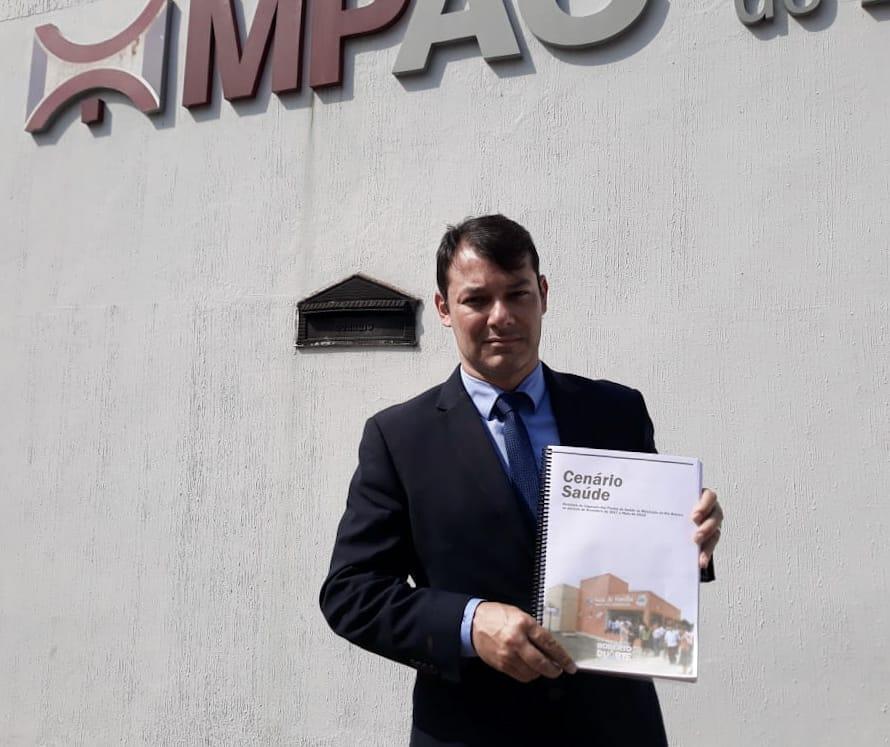 Roberto Duarte fiscaliza Unidades de Saúde e encaminha relatório ao Ministério Público