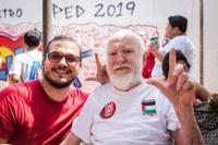 Rodrigo Forneck homenageia Abrahim Farhat em sessão online da Câmara