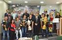 Vereador Dankar homenageia Equipe de Futsal do Conjunto Universitário