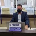 Vereador Francisco Piaba solicita revitalização para quadra poliesportiva no Bairro Recanto dos Buritis