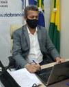 Vereador Ismael Machado cobra da prefeitura a continuidade da obra do Mercado Municipal Aziz Abucater