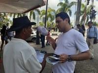 Vereador João Marcos Luz vai à Esquina da Alegria prestar contas ao Povo