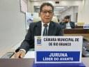 Vereador Juruna pede apoio a bancada Federal