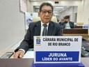 Vereador Juruna pede apoio à segurança de permissionários
