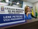 Vereador Lene Petecão pede melhorias na Via Chico Mendes