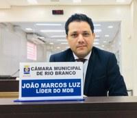 Vereador Luz cobra do governador planejamento para reabertura do comércio