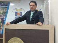 Vereador Luz denuncia abandono na Obra da Escola Mestre Irineu Serra