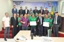 Railson Correia apresenta Moção de Louvor a equipe do DEPASA