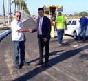 Vereador Raimundo Neném destaca conclusão da obra de revitalização da pista de caminhada na Arena da Floresta