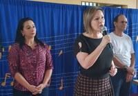 Vereadora Elzinha Mendonça prestigia solenidade de inicio do ano letivo em Rio Branco
