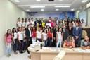 Vereadora Lene Petecão oferece Moção de Aplauso a Escola Lourival Pinho