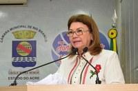 Vereadora Lene Petecão sugere isenção de IPTU a idosos acima de 60 anos