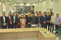 Vereadores de Rio Branco dão boas-vindas aos novos colegas de parlamento