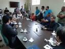 Vereadores de Rio Branco recebem produtores de açaí da Capital