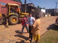 Raimundo Neném acompanha trabalho no segundo distrito
